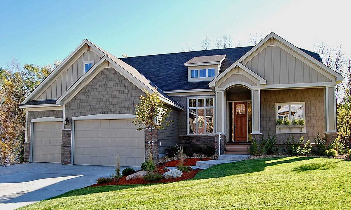 Plan 73272hs Just The Right Size Ranch House Plans House Plans And More Architectural Design House Plans