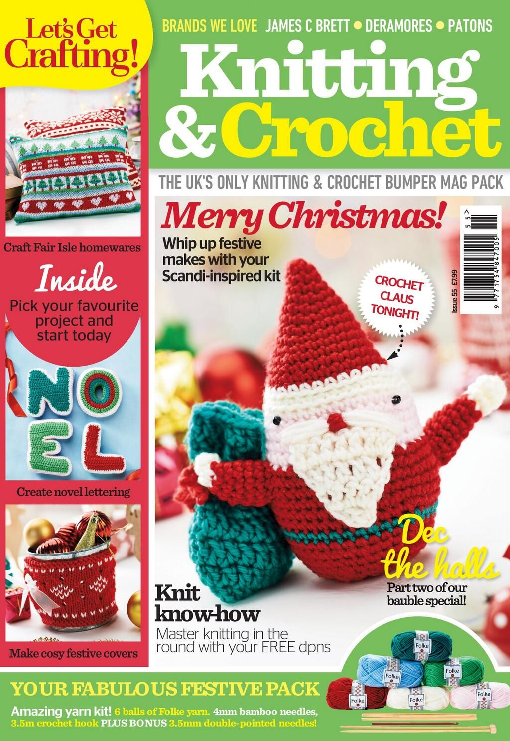 Who'd like to take a look at our brand new cover? This issue will in shops a week tomorrow!