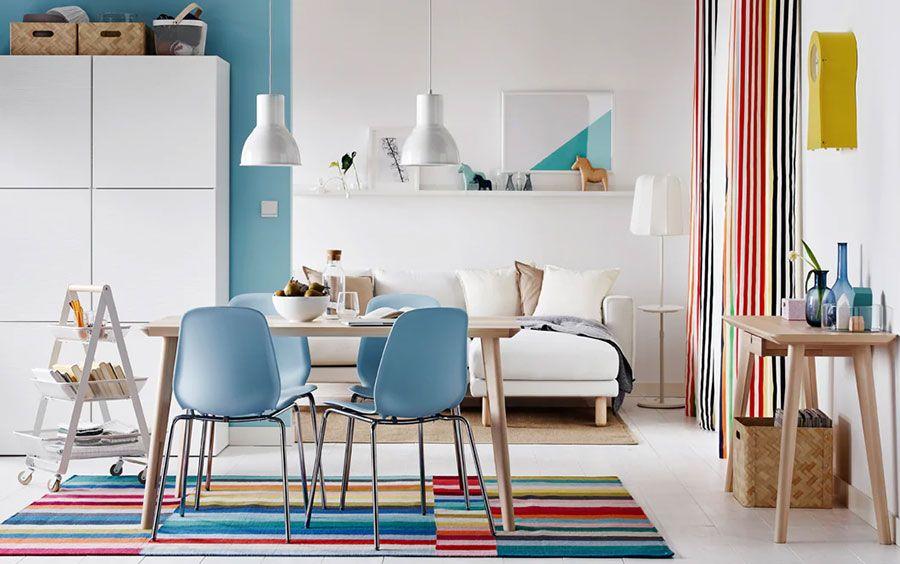 Gli interni più belli del mondo. Arredare Casa Al Mare Ikea 35 Idee Per Arredi E Accessori Mondodesign It Dining Room Colors Dining Room Inspiration Dining Room Furniture