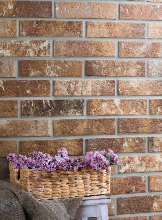 Add A Rustic Brick Wall To Your Kitchen With Our Range Of Effect Tiles