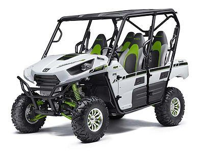 New 2015 Kawasaki Teryx 4 Le Eps 800 White Blowout Sale