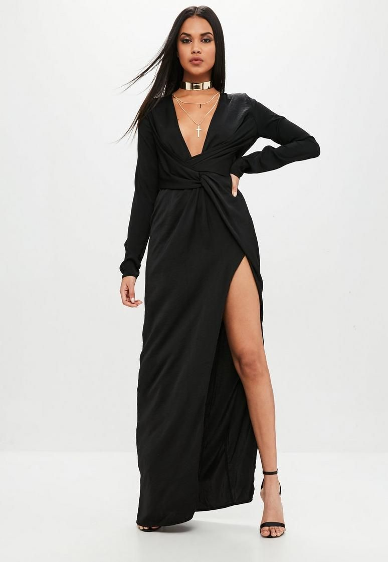Black Satin Wrap Dress Wrap Dress Clothing For Tall Women Satin Wrap Dress [ 1121 x 774 Pixel ]