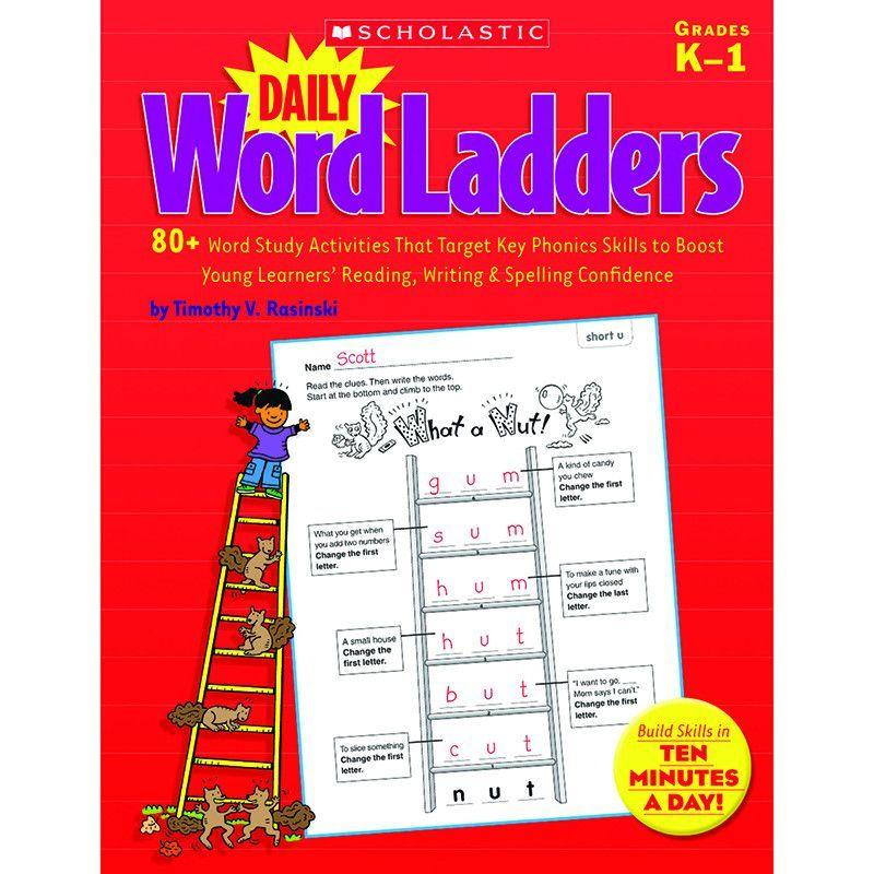 Daily word ladders gr k1 – Reproducible Student Worksheet
