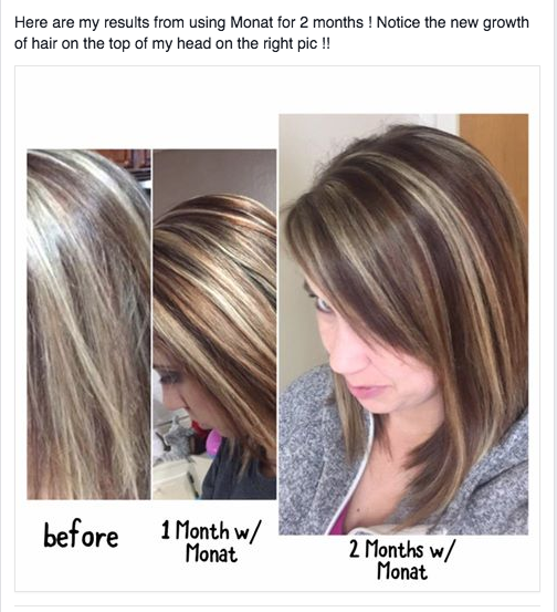 Monat is safe for color treated hair. Add a couple of drops of the ...