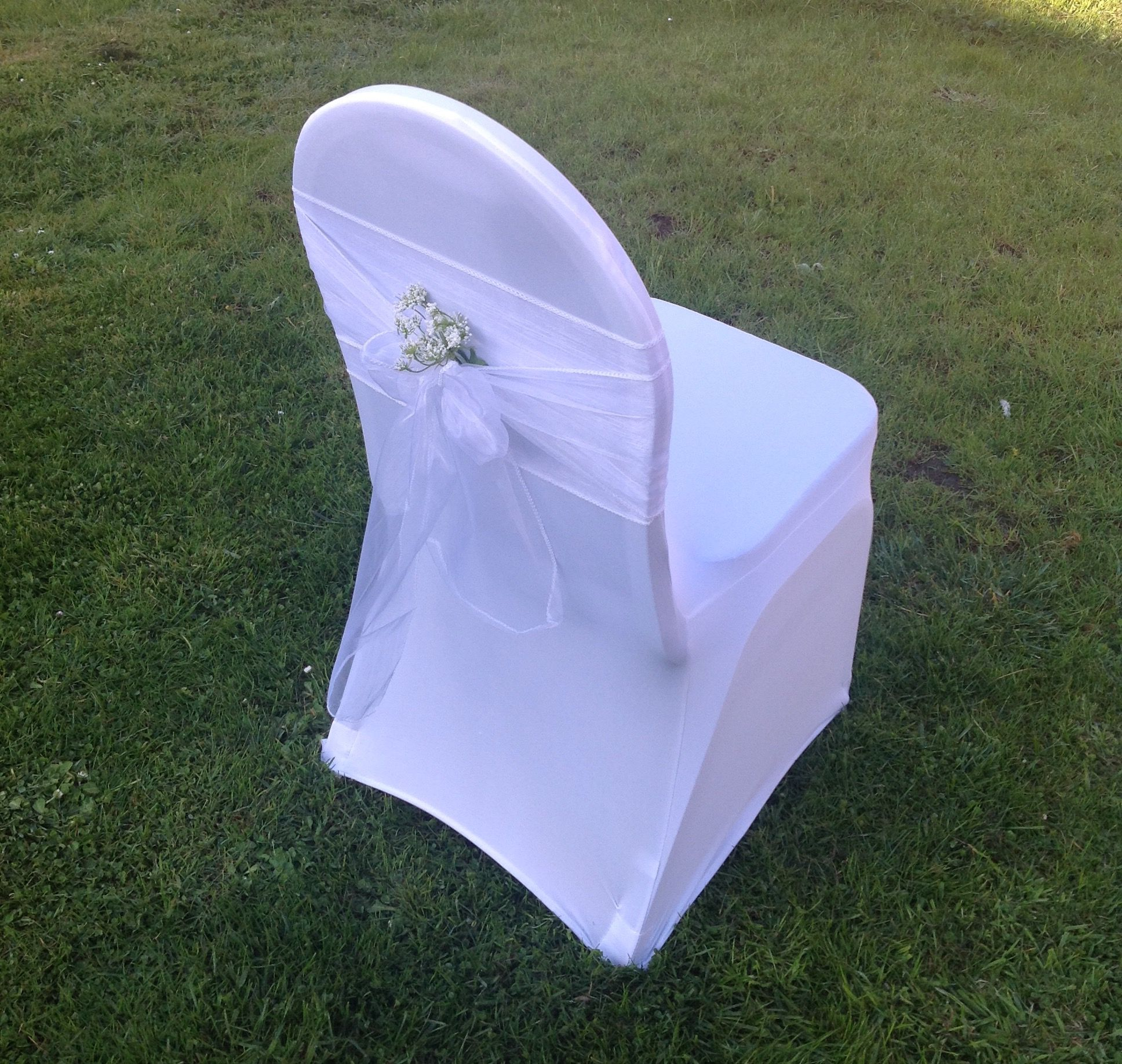 We Now Hire Chair Covers Easy Diy Fitting In Seconds Bicycle Wedding Wedding Hire Venue Decorations