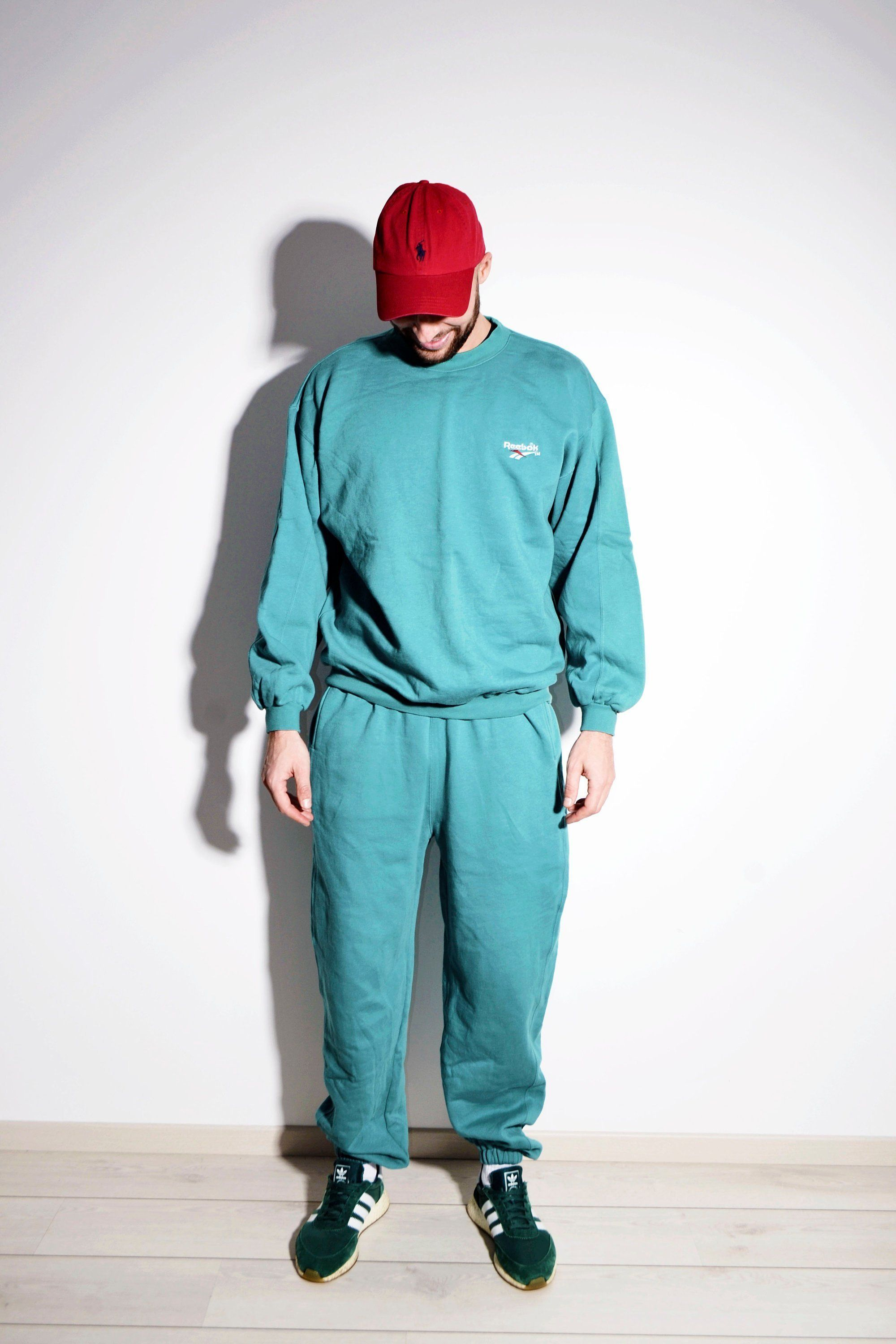 super specials cute cheap uk availability Vintage REEBOK sport sweat suit in mint green colour | Old ...