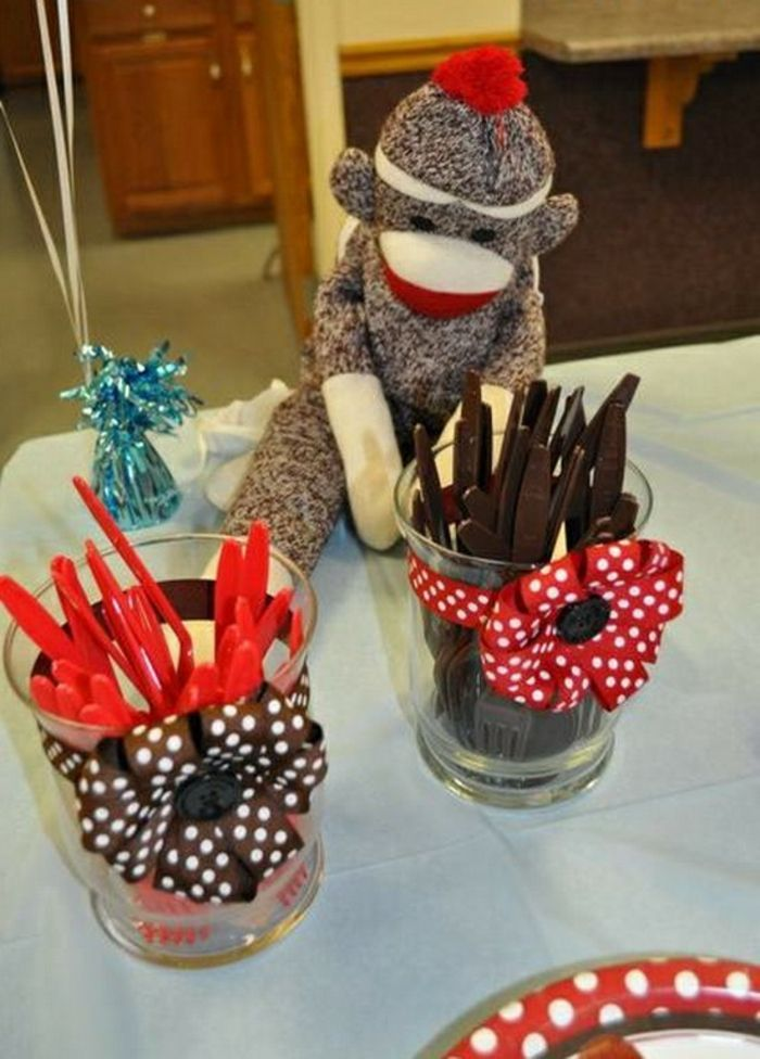 Marmeladengläser Verzieren Für Ein Kindergeburtstag Party