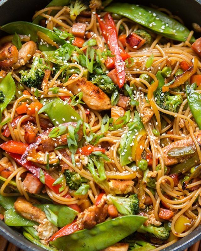 Teriyaki Chicken Noodles By Ohsweetbasil Ohsweetbasil 1 Pound