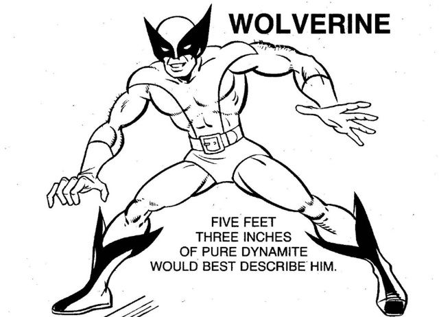 The 1983 X Men Coloring Book Is A Lost Psychedelic Masterpiece Coloring Books X Men Book Activities