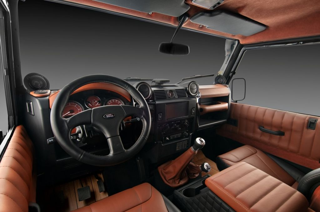 Land Rover Defender Interior Upgrade By Studio Vilner 3
