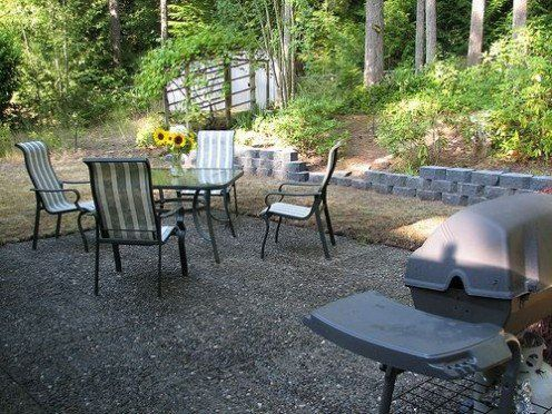 Gorgeous Crushed Stone Patio Ideas How To Build A Loose Material Patio  Dengarden