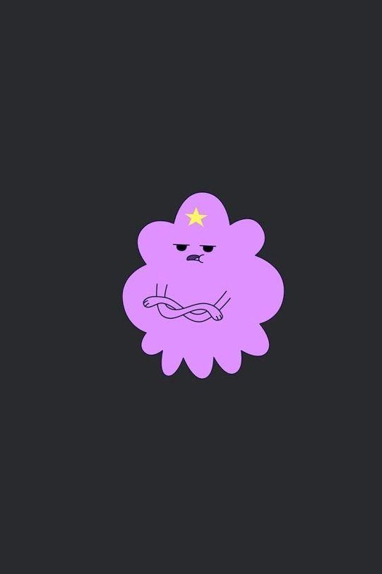 Lumpy space princess iphone wallpaper