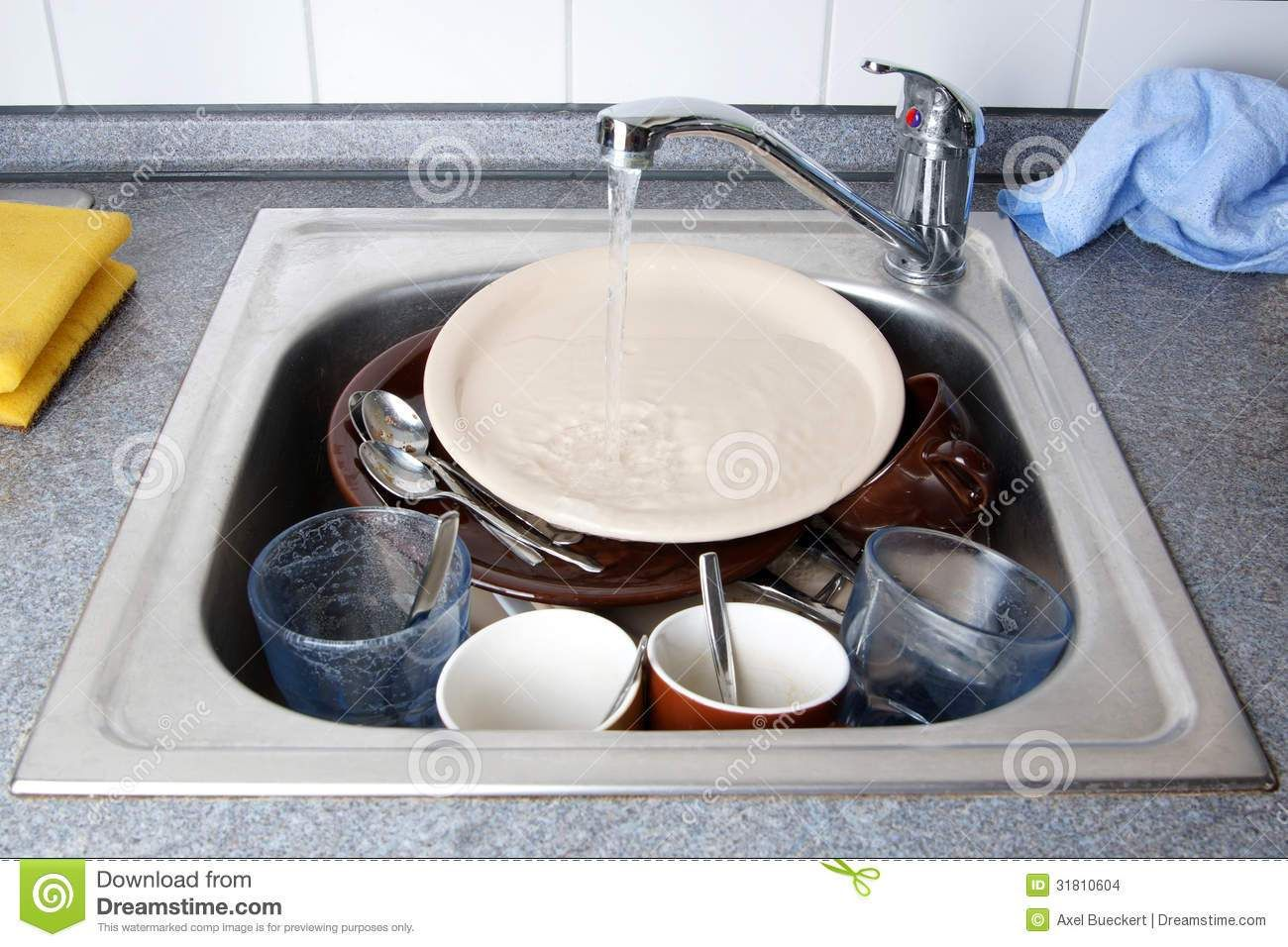 pile dirty dishes kitchen sink running water dishes sink clip art ...