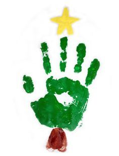 christmas tree with handprints  Google Search  Holidays