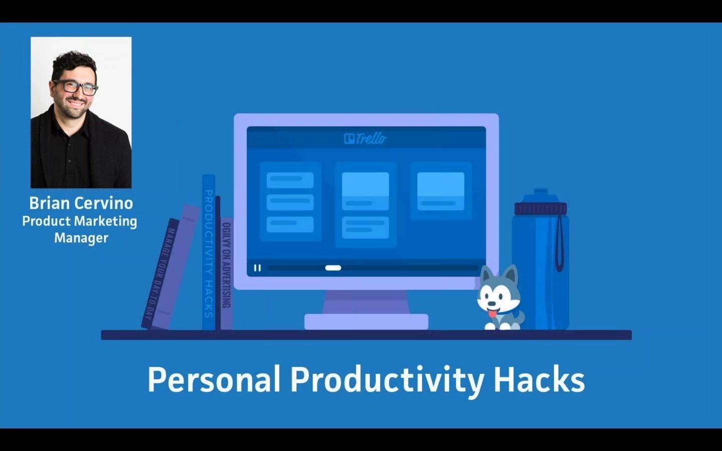 Trello Brand Illustration style Productivity hacks