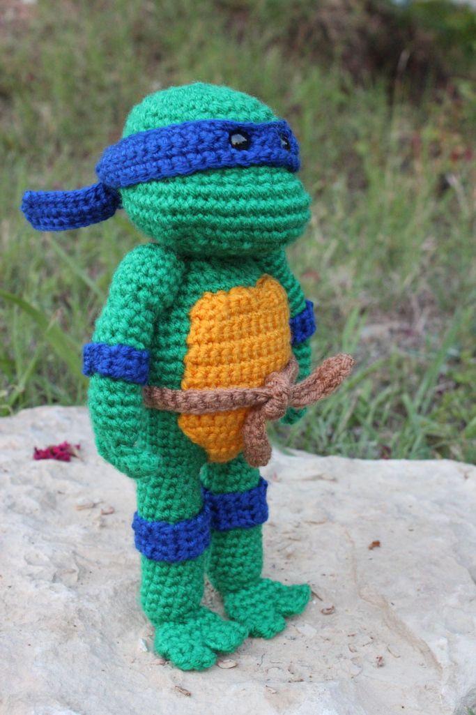 Teenage Mutant Ninja Turtles Turtle Pattern Crochet Ninja