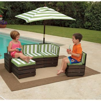 Costco Kidkraft Outdoor Sectional The Kids Want This For Pool Nana