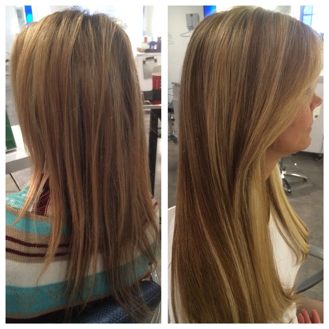 Before After Extension Work By Xavier Menard At Salon Prive Hair