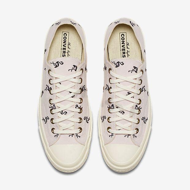 100% authentic 455a8 6c18c Converse Chuck 70 Prep Embroidery Low Top Unisex Shoe | WishList ...
