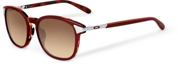 95b93372b6 Oakley Women s Ringer Sunglasses Red Mosaic Dark Brown Gradient ...