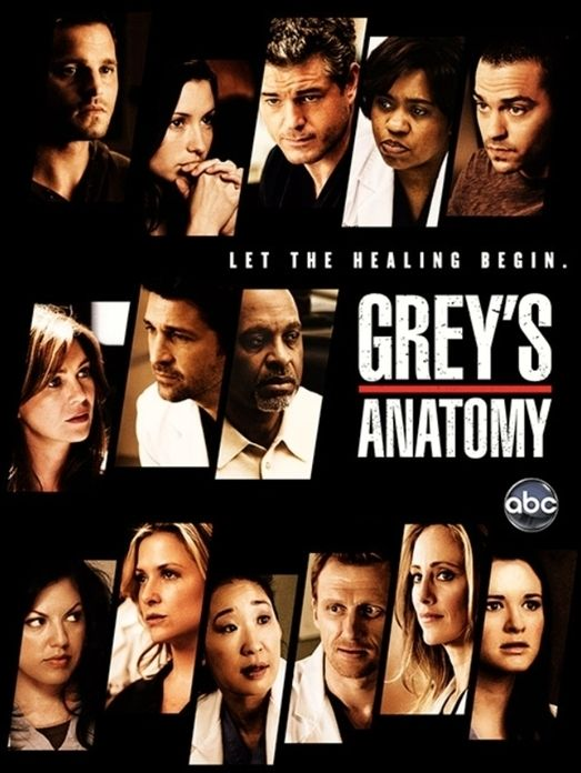 Greys Anatomy Tv Seriesing Over Some Of The Characters From