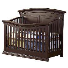Sorelle Verona Panel 4in1 Convertible Crib Espresso Baby