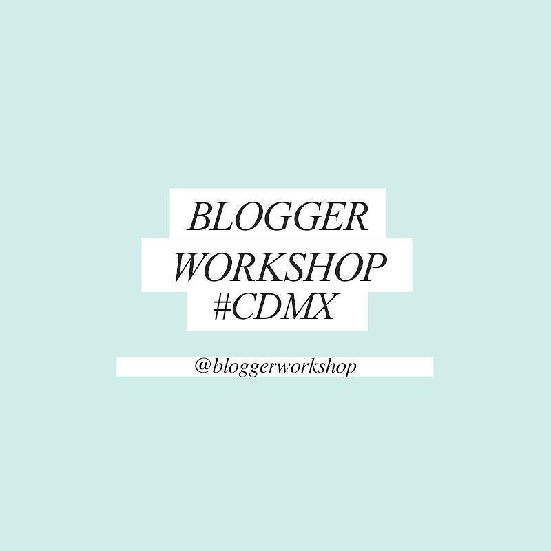 The new @BloggerWorkshop!  Atención #CDMX el primer #BloggerWorkshop del año será este 4 de Marzo  Qué es el Blogger Workshop? Es un taller de un día donde les enseño los mejores tips y consejos de cómo comenzar su Blog /Proyecto personal en digital no importa la temática puede ser de moda belleza fitness beauty etc. Si ya tienen uno te ayudo para saber cuáles son los siguientes pasos para crecer tu  proyecto  NO exclusivo para Bloggers  si tienes una marca pequeña entonces también es…