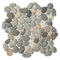 Earth Pebbles Mosaic (medium) 12 x 12 in. #thetileshop