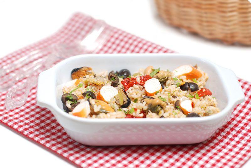 Ensalada de arroz a la marinera cocina del da a da pinterest ensalada de arroz a la marinera spanishquinoapastafood forumfinder Image collections