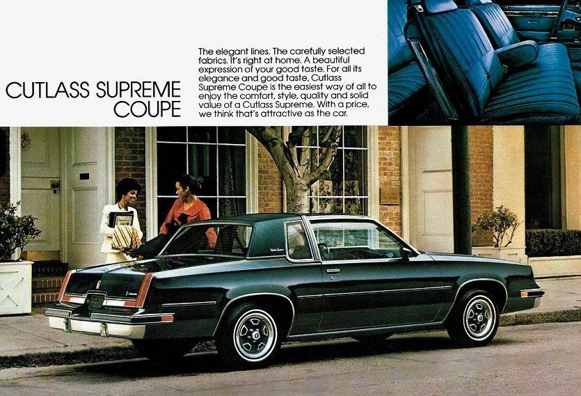 Oldsmobile Cutlass Supreme Coupe Oldsmobile Oldsmobile Cutlass Supreme Oldsmobile Cutlass