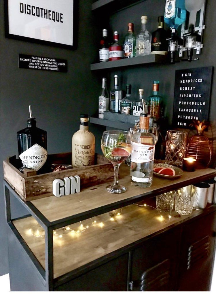 Home Bars Staying In Is The New Going Out Home Bar Areas Diy Home Bar Home Bar Designs