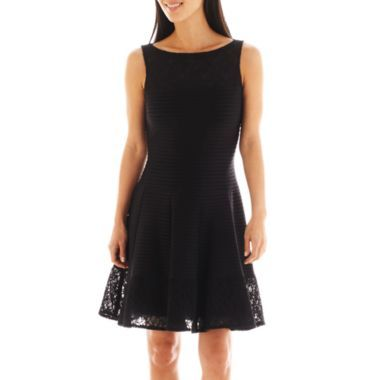 J Taylor Sleeveless Lace Dress Found At Jcpenney Fashion