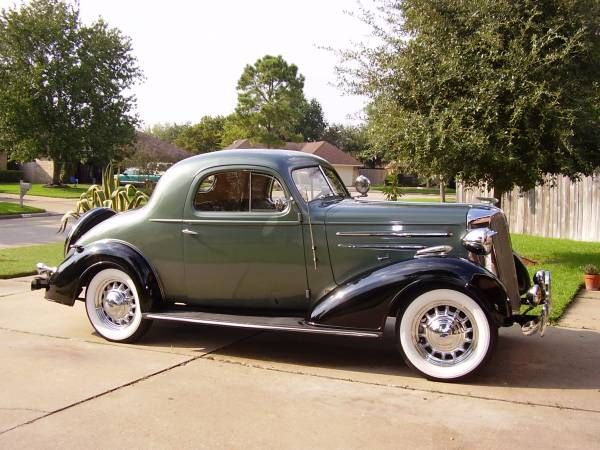 1936 Chevrolet Master Deluxe Sport Coupe With Images Vintage