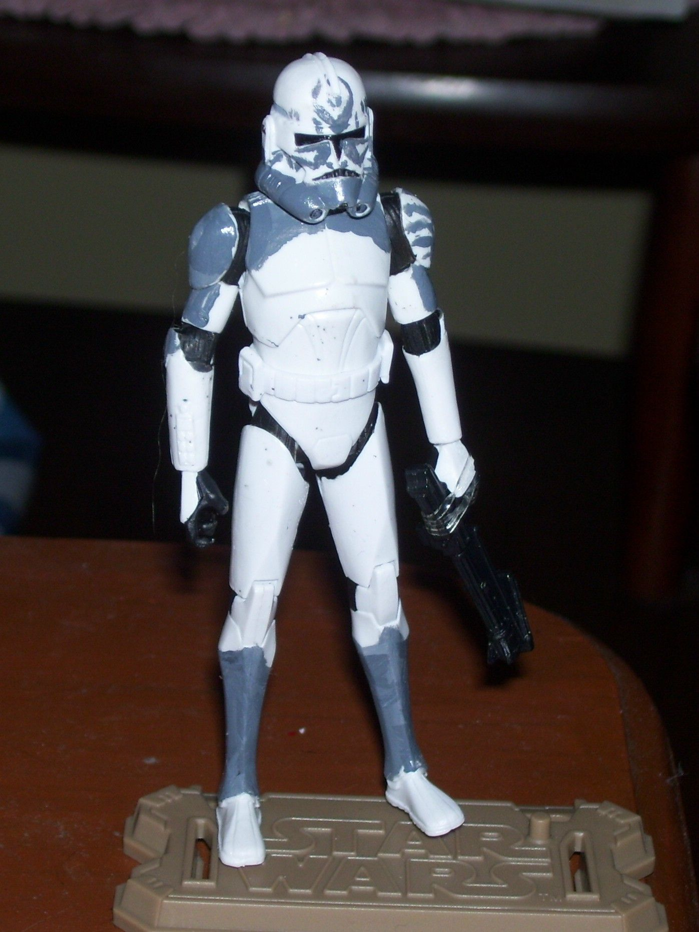 custom phase 2 clone trooper quotcometquot star wars clone
