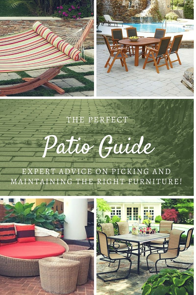 Patio Guide | Home and garden, Outdoor furniture sets ...