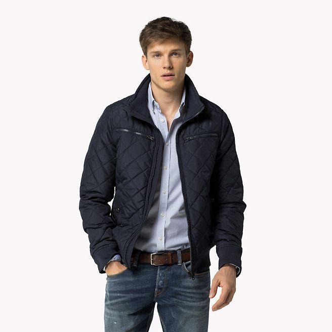 tommy hilfiger new brad bomber jacket midnight blue. Black Bedroom Furniture Sets. Home Design Ideas