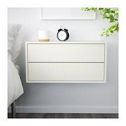 VALJE Vægskab med 2 skuffer, hvid - 68x35 cm - IKEA