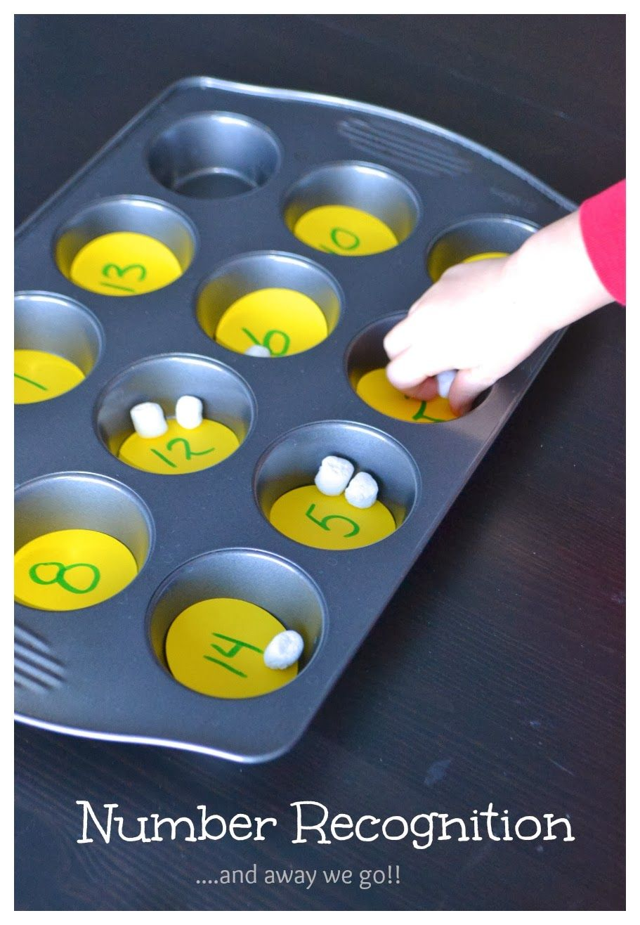 simple number recognition for preschoolers Numbers