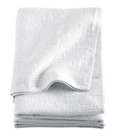 H&M Parivuoteen päiväpeite 59,99 | Cotton bedspread, Bed