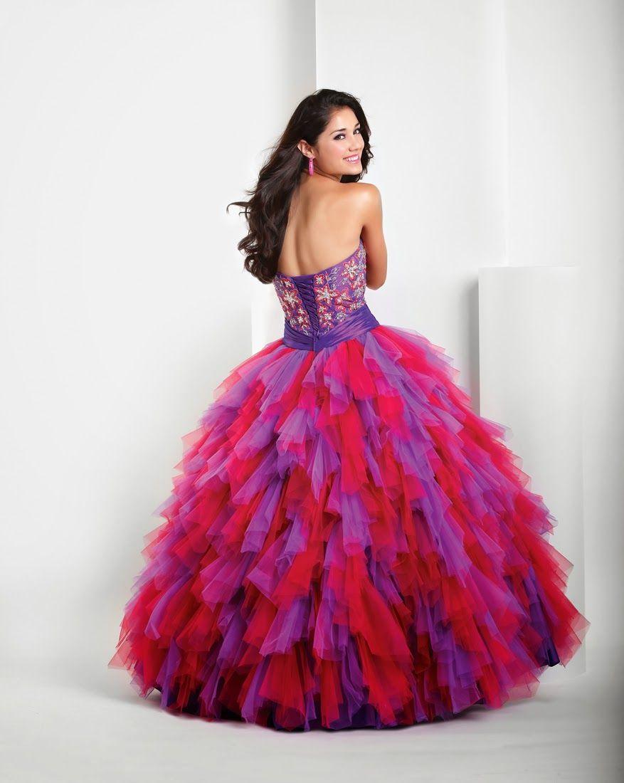 Los mejores vestidos de gala para adolescentes | Moda 2014 | xv ...