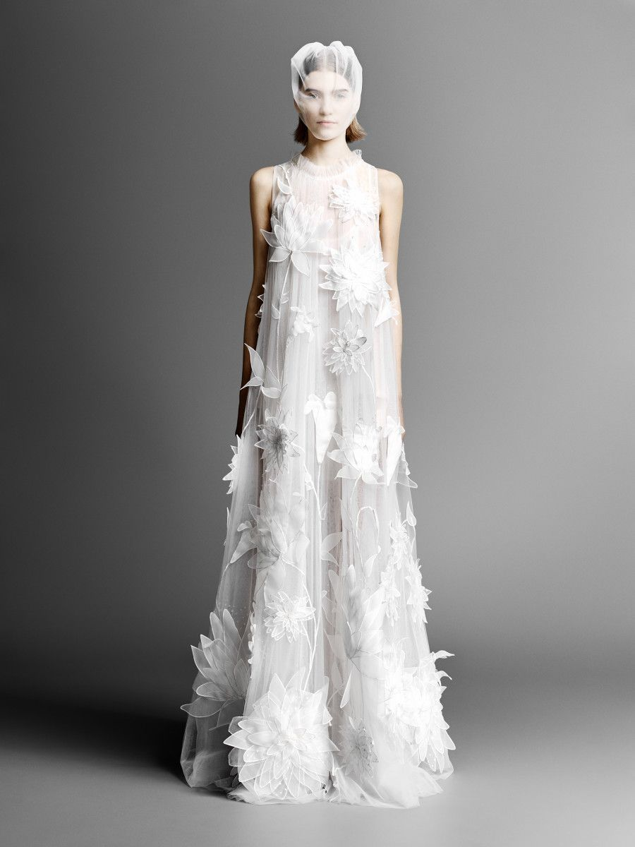 144a626ca10 A look from Viktor   Rolf Mariage s spring 2019 bridal collection. Photo   Courtesy