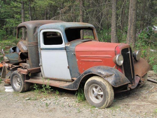 1936 Chevy Pickup Old Pickup Trucks Vintage Trucks Motor Truck