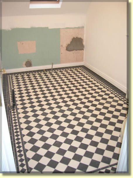 Harlequin Tile Floors Floor Tiles In A Luxury Bathroom Belfast