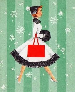 Pinspiration: Festive 50s Ladies | The Girl with the Star-Spangled Heart: Pinspiration: Festive 50s Ladies