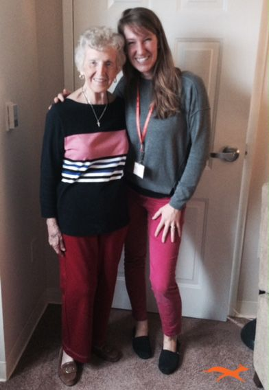 """""""Because of Physical and Occupational therapy, I feel a lot better. I feel agile and alive! I notice now I don't have to sit down and catch my breath all the time, I can keep moving!"""""""