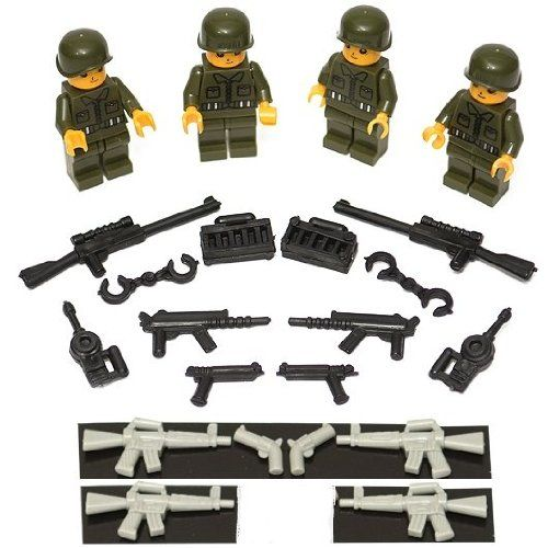 Ranger Squad and Weapons Set Latigo,http://www.amazon.com/dp ...