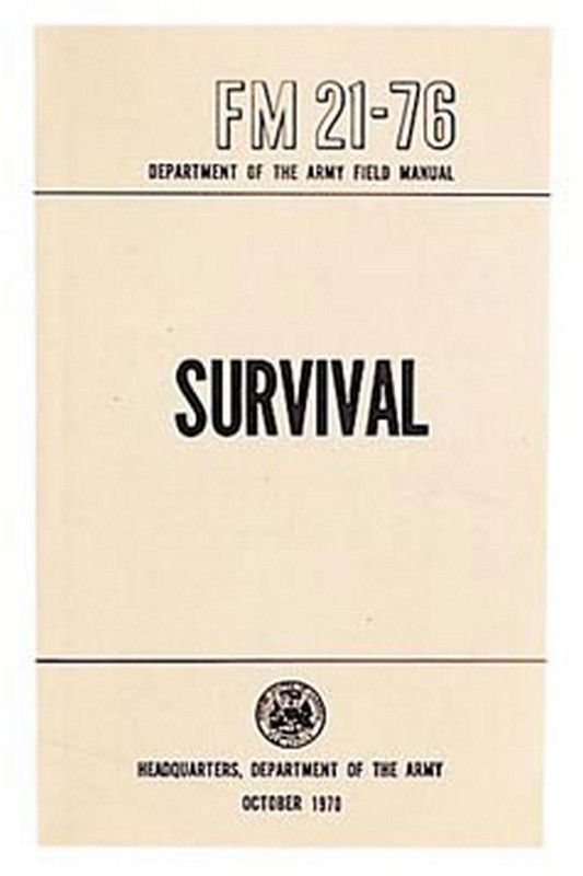 survival manual military manuals books 7 03 us military issue rh pinterest com United States Army Field Manuals list of us military field manuals