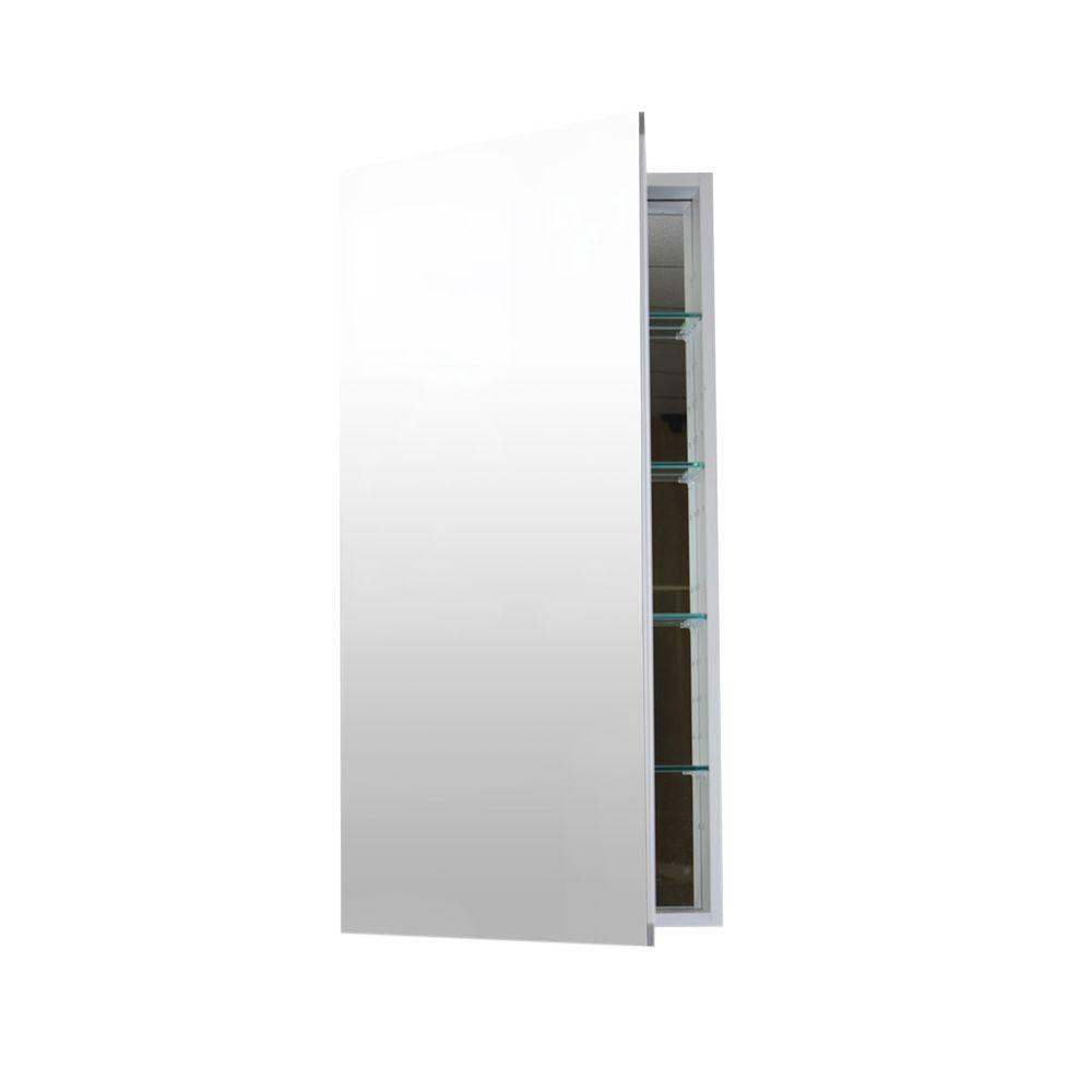 Flawless 24 In W X 36 In H X 4 In D Recessed Or Surface Mount Anodized Aluminum Medicine Cabinet Mc 2436 Surface Mount Medicine Cabinet Medicine Cabinet Recessed Medicine Cabinet