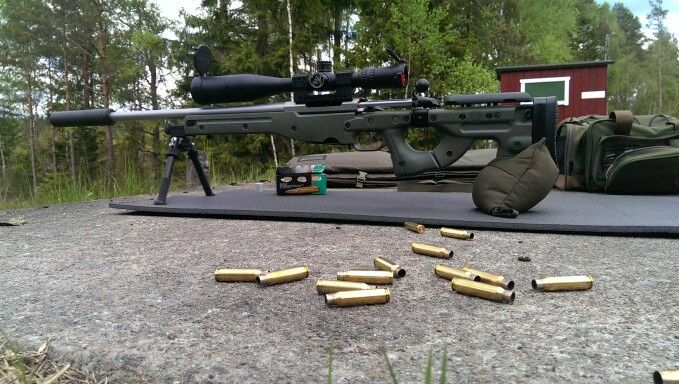Tikka T3 varmint in Roedale? chassi