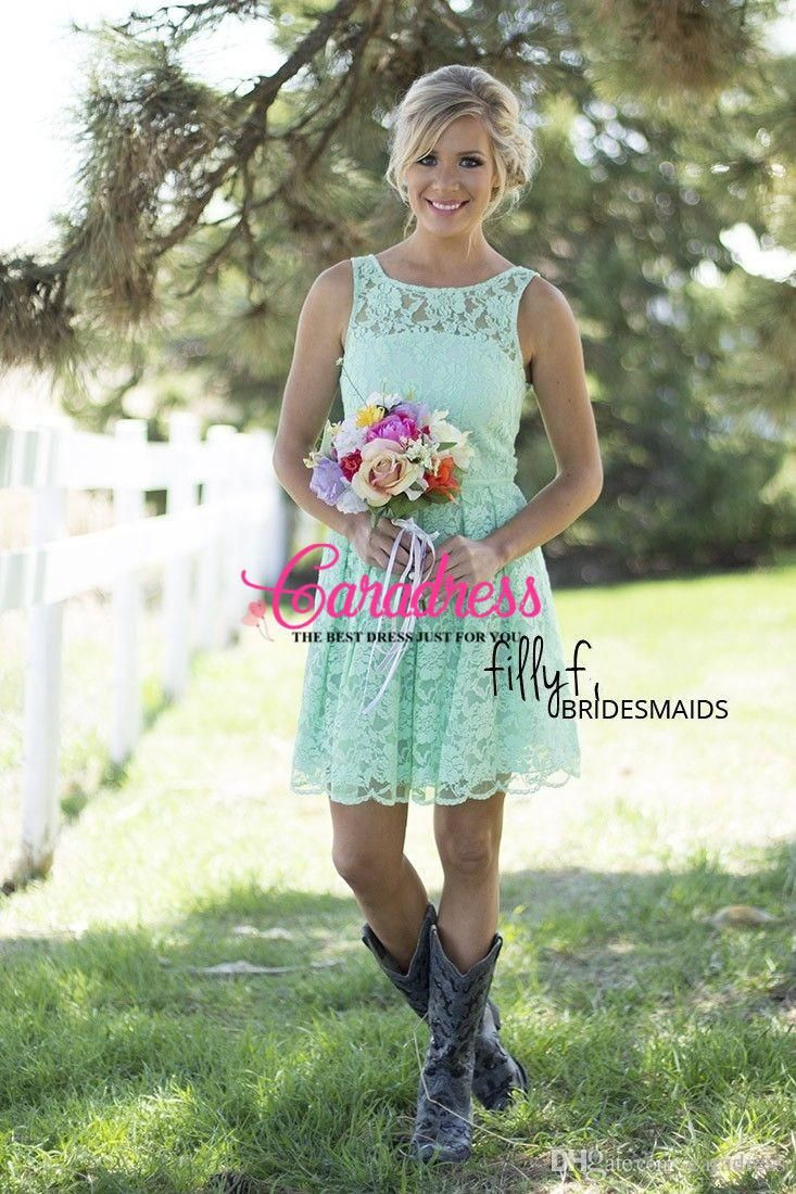 Summer Wedding Guest Dresses Cowboy Boots
